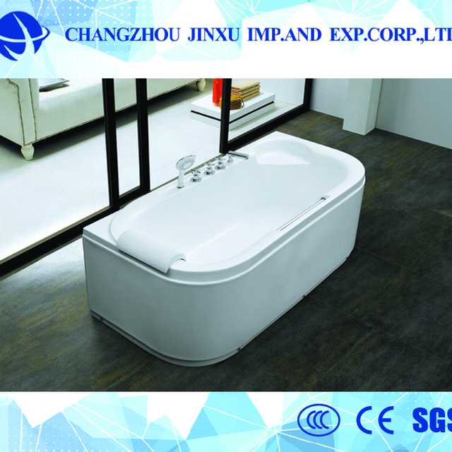 Side Length Of Aluminum Grille 4 30mm Corner Bathtub With Seat With Stable  Function XY