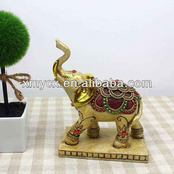 Polyresin souvenir elephant for gifts
