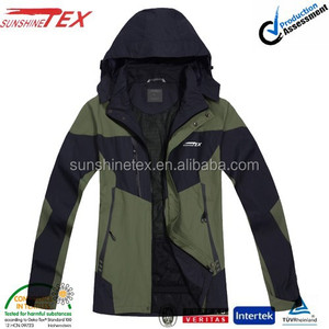 Mens outdoor performance waterproof windbreaker