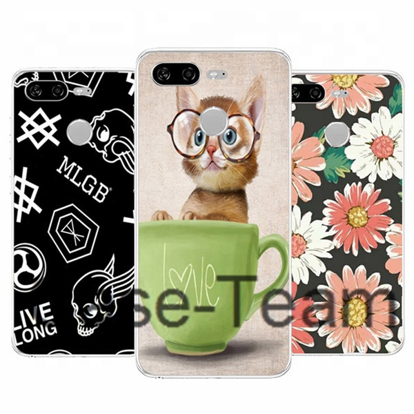 Colorful Printing Case for Gionee S11 Lite, Soft TPU Case for Gionee S11 Lite case,Cartoon Flower case for Gionee S11 Lite cover