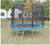 Commercial outdoor playground rent a trampoline for sale