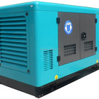 12KVA guangzhou factory sale power silent electric diesel generator set genset automatic charger battery 12v generator