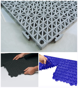 Modular Pvc Plastic Square Floor Tile,Anti Slip Drainage Floor Tile ...