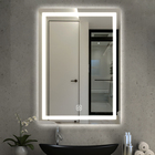 Popular Esejos Decorativo Bathroom Wall LED Mirror Touch Screen with Lights