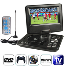 7.5 inch car dvd player Digital Multimedia Portable DVD with Card Reader & USB Port, Support TV & Game car dvd player