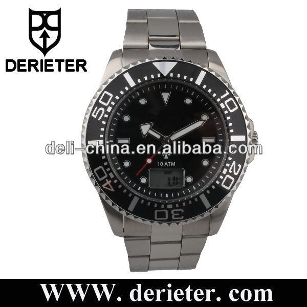 ww77men_stainless steel radio controlled watches men dcf77 msf jjy or ww