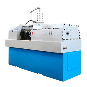 FEDA automatic feeding knurling machine high precision threading machine manual thread rolling machine price