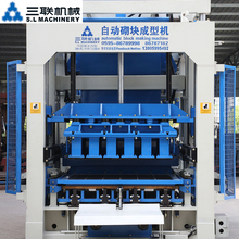 concrete fly ash brick block making plant machine