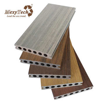 anti-uv co-extrusion composite wood decking passed ce