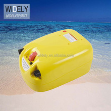 Double action high pressure and speedy air compressor electric pump for inflatable boat and tent