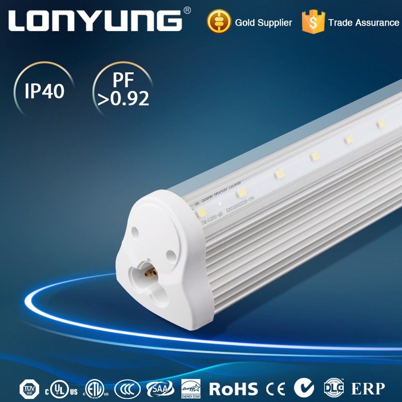 Office suspending or surface mounted t8 led tube8 school light
