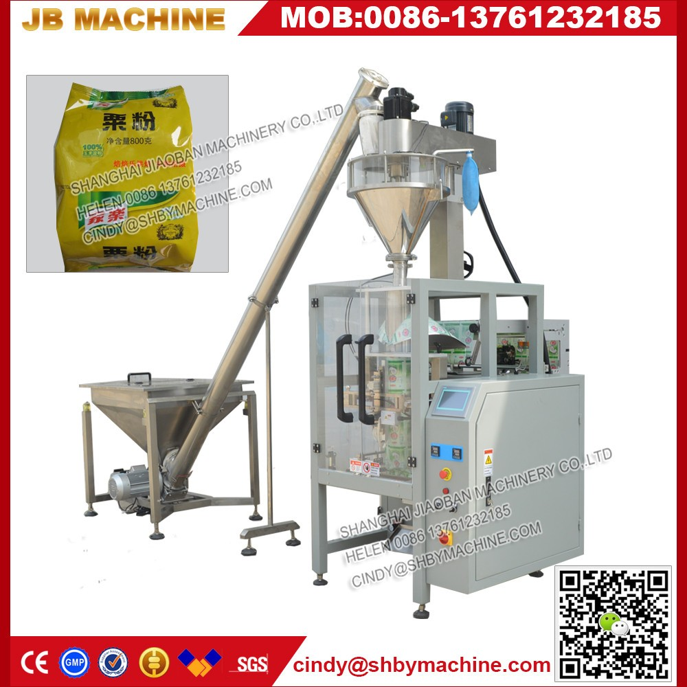 New design labeling packing machinery with Auger filler {
