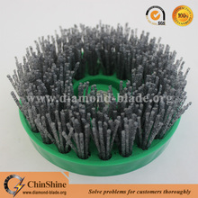 5 inch 125 mm diamond stone abrasive nylon cup brush for granite marble
