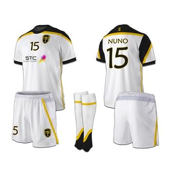 6279dc54433 Full set Sublimation 100% polyester New model football jersey Custom design  Roma Soccer jersey uniform