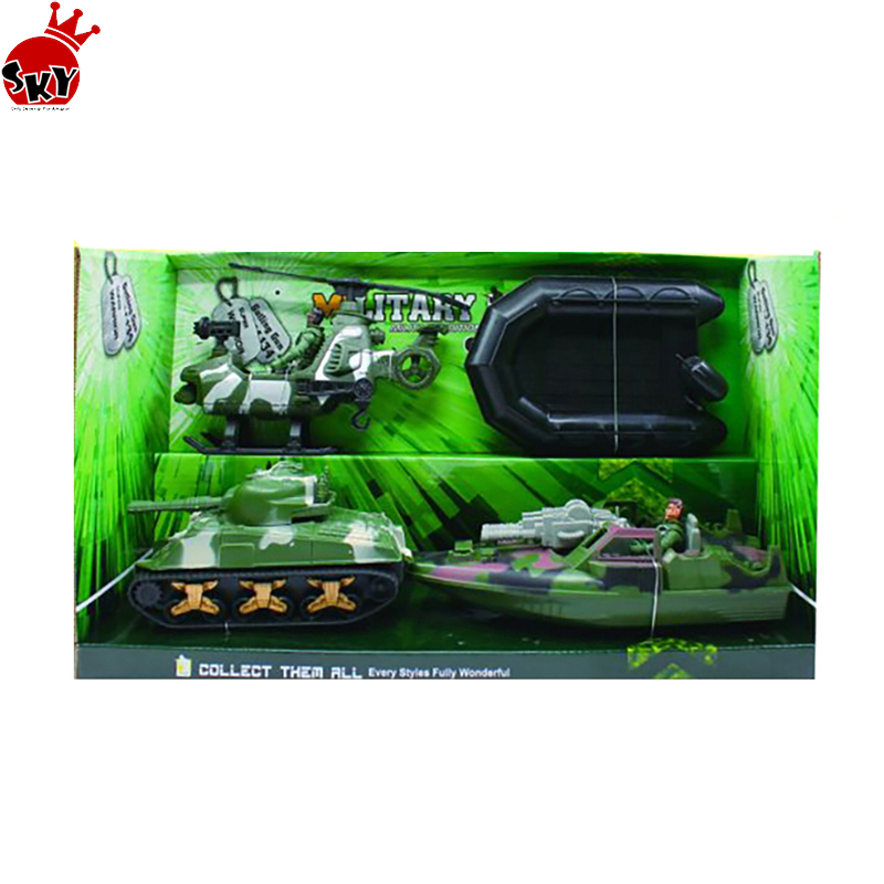 #children plastic Military Vehicles Scaled Army Toy Play set - Stealth Bomber Tank Helicopter Motorcycle and More