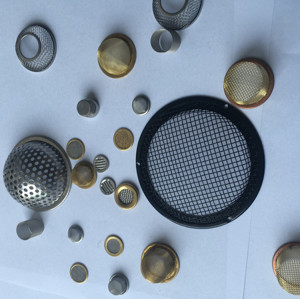 Professional stainless steel sintered metal filter disc metal mesh rimmed filter disc