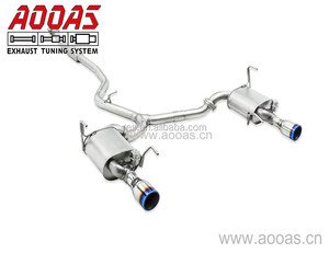 Performance Stainless Steel Valve Exhaust For Car Legacy