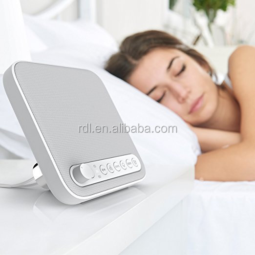 Natural Relaxation Sounds Tracks with Timer Option White Sound Machine Therapy Sound Spa device
