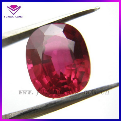 Various cut Gems 5# ruby wholesale synthetic ruby on sale