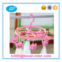Children socks plastic display hanger clothespin hanger