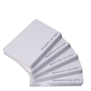 Wholesale stock Access control card contactless em4200 tk4100 t5577 rfid chip pvc smart blank proximity id 125khz em rfid card