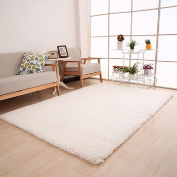 Solid Color Shaggy Indoor Rugs And Carpets For Home Living Room Carpet Kid Room Area Rug For Bedroom Rug Slip Resistant Buy High Quality High