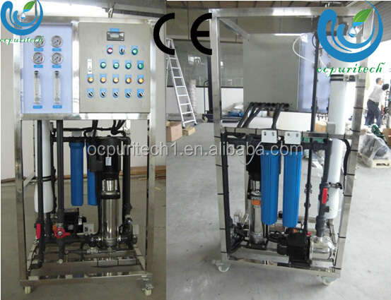 150LpH Sea Water Desalination Equipment RO purifier