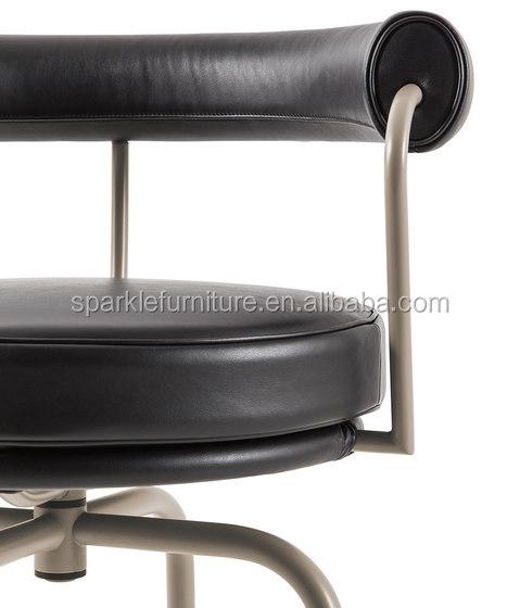 Le corbusier lc7 stoel, roestvrij stalen frame bureaustoel ...