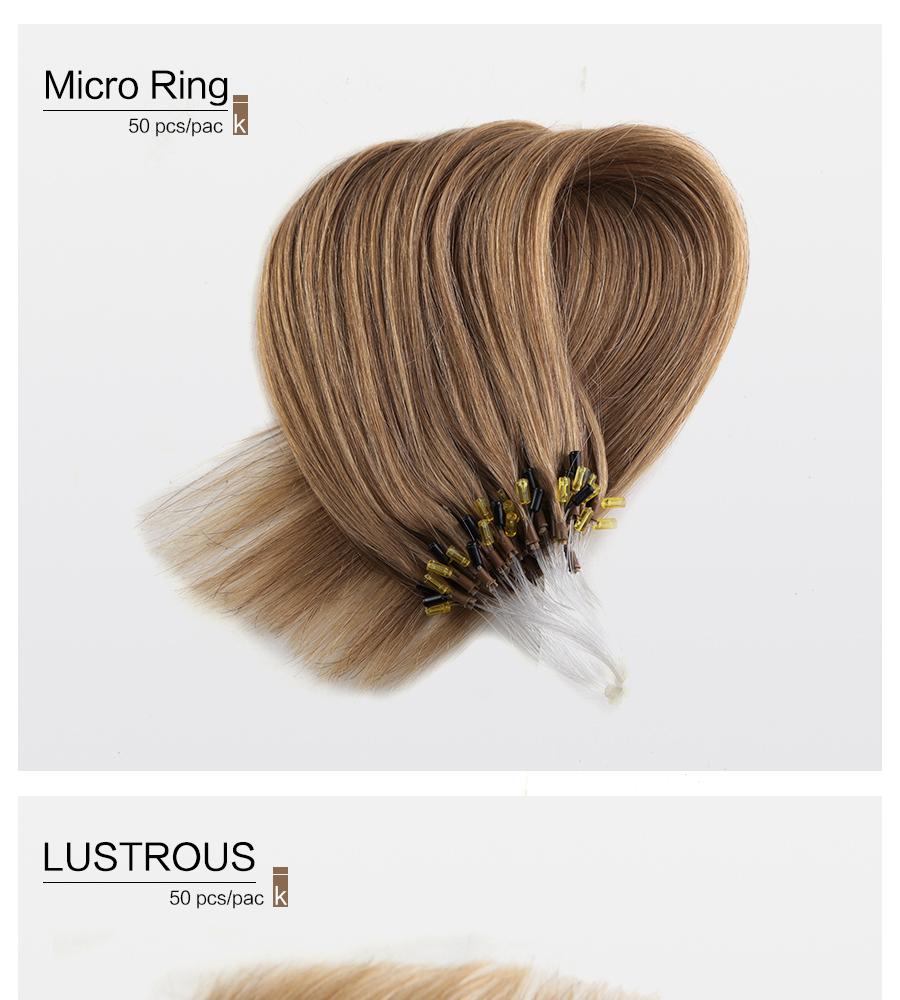 Ks Wigs Lady Microloopnano Ring Kinky Straight Brazilian Human