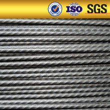 low relaxation high strength spiral PC wire ribbed steel wire coil