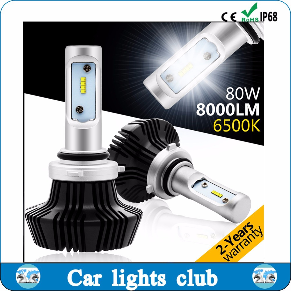 fanless all in one headlight car led h4 led headlight bulbs