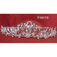 wholesale beauty queen real diamond crowns and tiaras