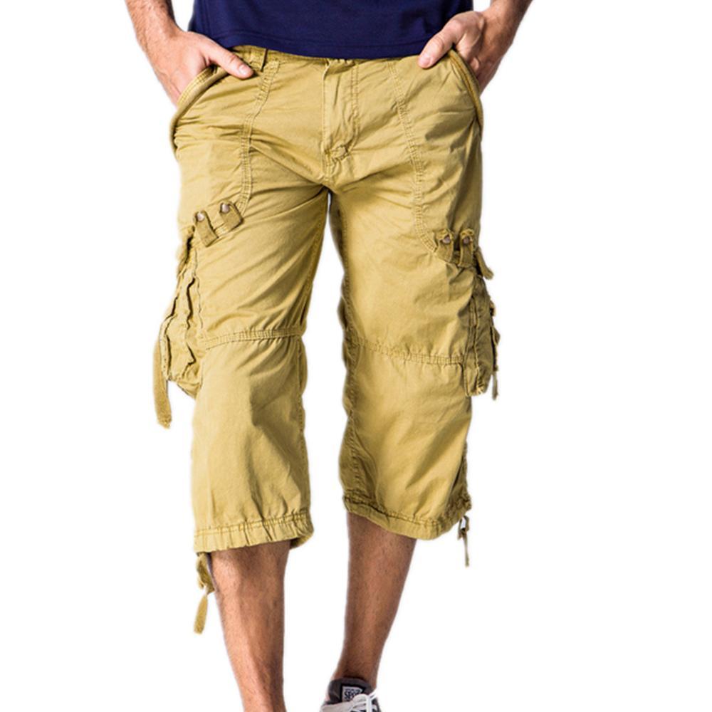 Pantalones Cortos De Los Hombres Capri de alta calidad