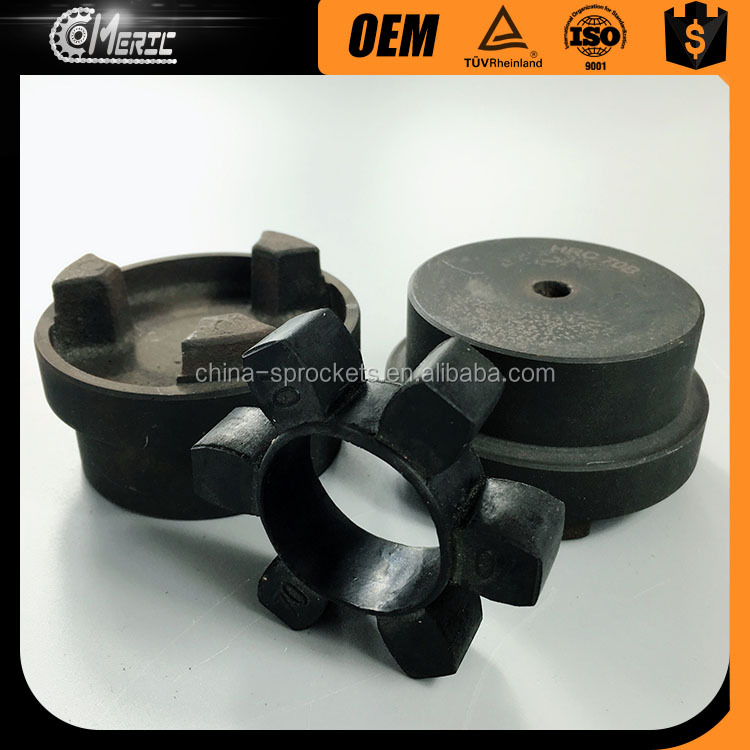 HRC Flexible rubber spider type jaw coupling ( HRC150 )