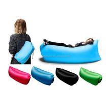 Fast Inflatable Portable Outdoor or Indoor Lazy Bed for Camping, Beach, Park, Backyard