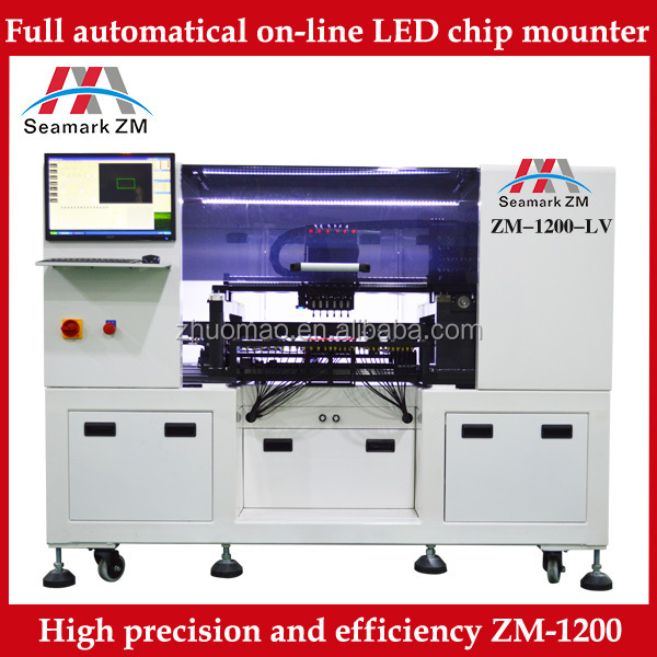 TP39V SMT High precision desktop manual visional system mounter pick and place machine pick & place machine