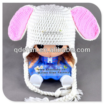 Wholesale Easter Bunny Hat And Diaper Cover Set Crochet Pattern