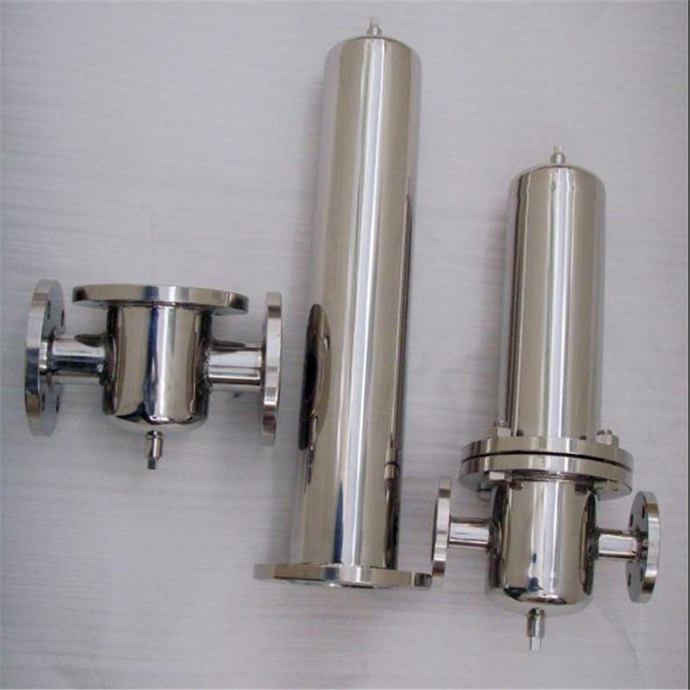 Factory supplied stainless steel cartridge filter housing for water purifier <strong>system</strong>