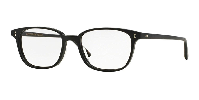 2adc82efe6 Get Quotations · New Oliver Peoples OV 5279 U MASLON 1465 BLACK SEMI MATTE  Eye wear Eye Glasses