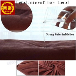 bulk microfiber towel for hair /kitchen/hand/face/bath/beach/ car clean aliexpress microfiber towel