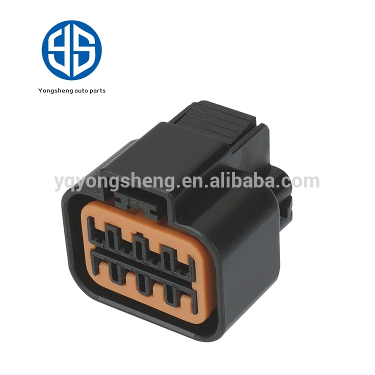 Auto Connector Electrical Wire Female Plastic Housing Waterproof Auto Wire Connectors