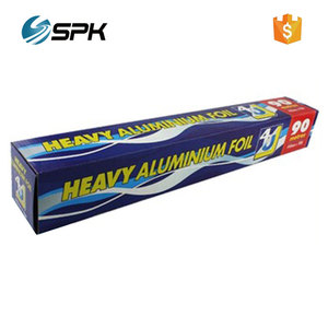 Refrigerator use aluminium hot stamping foil jumbo paper cooking roll