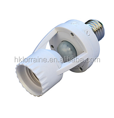 Lighting Accessories 360 Degrees Pir Induction Motion Sensor Ir Infrared Human E27 Plug Socket Led Light Sensor Switch Base Lamp Holder Lamp Bases