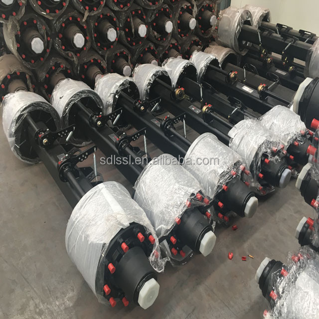 High Quality American truck trailer spare parts axle