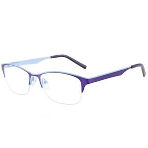 35391cf45dc New Style Spectacles Frame Half Rim Designer Metal Optical Frames  Eyeglasses Frame Wholesale Made in China