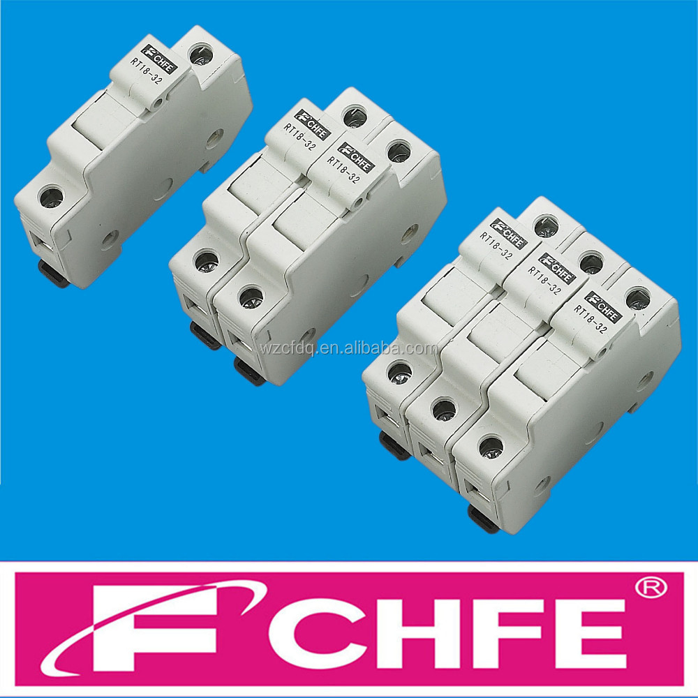 CHFE Brand 10x38 RT18-32 14x51 22x58 cylindrical Fuse Holder