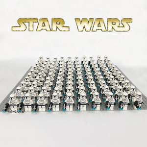 Star Block Wars White Clone trooper sw442 Battle Pack Compatible legoes Building Blocks  figure Model Toy for Boy Kids Gift