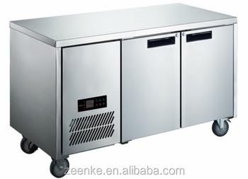 Kühlschrank Edelstahl : Tür edelstahl kommerziellen unterbau kühlschrank chiller