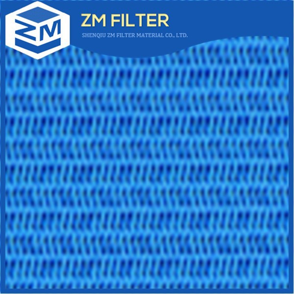 China ZM brand make hot sale paper making spiral weaving dryer screen polyester mesh