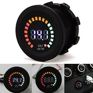 Waterproof Car motorcycle 12V Digital voltage Amp meter